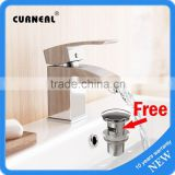 No.B009 Cheap Desk Mounted Bathroom Single Handle Washbasin Faucet, Wash Basin Mixer Tap