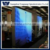 NEW YG Fabric frameless advertising display LED light box ,textile backlit light box frame