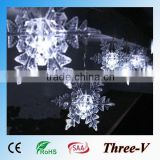 20LEDs 4*0.15M CE ROHS SAA approved falling star led christmas lights decoration window stars/butterfly/heart/horse/snowflake