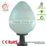 wholesale hot product flame ball garden wall lighting outdoor fence lamp garden pillar lamp