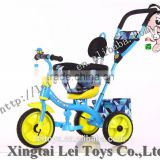 Fashionable model 3 in 1 children bicycle tricycle with rotaty seat made in China for best quality