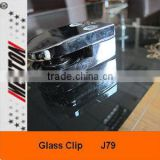 Glass Holding Clip For Furniture