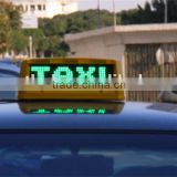New products on china market wireless WIFI control led taxi roof signs                                                                         Quality Choice