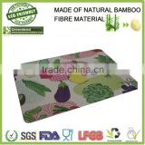 vegetables prints bamboo fiber cutting board,bamboo vegetable cutting board