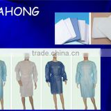 blue sms surgical isolation gowns