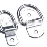 Stainless Steel AISI 304 316 Dee Ring Handbag Hardware Accessories Produced in China Manufacturer