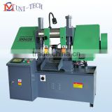 Double column hydraulic metal band sawing machine GHS4228,double column metal sawing machine