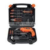 HOT SALES POWER TOOL SET FOR HOUSEHOLD TOOL TYPE IMPACT DRILL SET WITH 38PCS TOOL KITS FROM CHINA