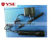 Led rechargeable flashlight,safety working torch