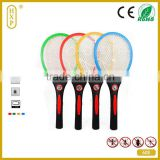 2015 Top Selling Recharge Electronic Mosquito Swatter Fly Killer Indoor Mosquito Racket Insect Racket