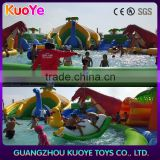 inflatable water playground water amusement park backyard water park