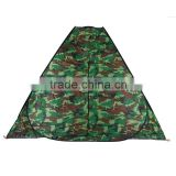 3-4 person camouflage four corner shower tent toilet shelter bathroom chang cloth room