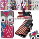 2015 new wholesale hot selling Leather wallet mobile phone case cover for HTC desire 620