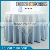 ToBest Hotel supplies factory wholesale restaurant embroidery / tablecloth / chair covers