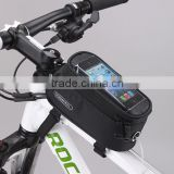 Wholesale China manufacture handlebar mountain bicycle Navigate holder phone case bag 12496S optical frame bag