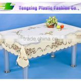 popular custom printed plastic tablecloth