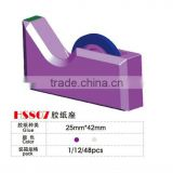2013 latest tape dispenser office supply keyboad series tape dispenser display in the canton fair