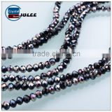 Wholesale rondelle crystal beads 4mm faceted glass beads for wedding clothes                                                                                                         Supplier's Choice