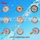 Different Style hot water temperature pressure gauge thermalmanometer