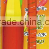 plastic printable rocket shaped balloon