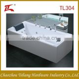 Wholesales Factory Price Good Quality Free Standing Square Massage Arylic Pillow Bathroom Bathtub