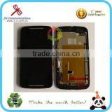 Replacement lcd touch digitizer screen assembly for Motorola Moto G2 XT1068 lcd assembly with frame