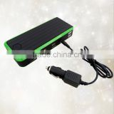 12000mAh (44.4Wh) with 12V(car starter) Dual USB(cellphone) 12v(car refrigerator) output battery snap on jump starter