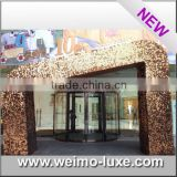 2016 Silver Sequin Wall Panel For Outdside Store Decoration                                                                         Quality Choice