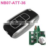 NB07-ATT-36: For Peugeot Citroen (most before 2013) car remote key and some other brand cars