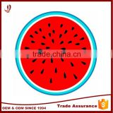 Wholesale Printed watermelon shaped Large Round Beach Towel