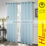 Low MOQ cheap sheer voile curtain in china,bathroom curtain for sliding window,valance curtain room divider
