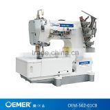 OEMER-562-01CB high speed flat bed pegasus basic model interlock sewing machine competitive price