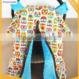 Baby Canopy Infant Yellow Owl Open Sun Protection Car Seat Cover                                                                         Quality Choice