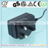 30W RoHS, CCC, TUV, CE, CB, GS, SAA, FCC and ETL Approved Universal Travel AC Power Adaptor