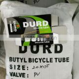 DURO BICYCLE TUBE 20x1.75 butyl inner tube bicycle tube duro