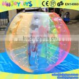China wholesale TPU human inflatable ball / inflatable belly bump ball / inflatable knock ball