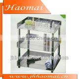 2011 new acrylic cosmetic box with wheels,acrylic stackable box,acrylic shoe box,drawer acrylic box