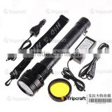 2014 New LED Battery Indicator 85W HID flash torch light 8500 lumen Search light hunting light HID flashlight xenon torch