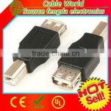 USB 2.0 type A to type B adapter male to female converter