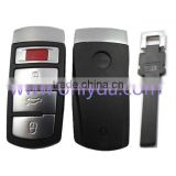 Hot selling VW Magotan 3+1 button remote key shell with blade