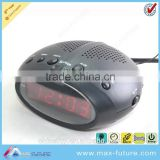 F-1750 0.6 Inch LED Clock Radio,Alarm Clock Radio AM/FM,Alarm/Snooze/Sleep Function