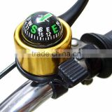 Hot Sale Colorful Bike Bell Compass Ring Bells Outdoor Door Sports Cycling Bells Bicycle Alarm Sound Crisp for Mountain Cycling