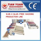 WJM-1/2/3 Thermo Bonded Wadding Production Line,Nonwoven Carpet Making Machine,Nonwoven Production Line