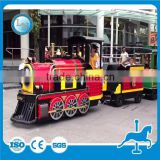 Amusement park electric train toy children train ride trackless train rides thomas train ride for sale