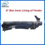 Pickup parts-- D-MAX inner lining of fender for isuzu