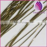 free sample 0.8mm bronze plated copper snake chain