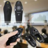 2.4GHz USB 1.1/2.0 Wireless Presenter RF Pointer Pen Remote Control PowerPoint PPT Presentation Mouse Black New