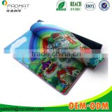 Sublimation non toxic rubber baby play mat for outdoor games