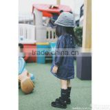 fancy and fashion design one piece baby girls jeans kids nice dress