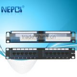 48 Port Cat 6 Patch Panel used for cabinet